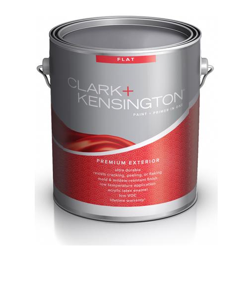 Краска Clark Kensington Flat Enamel Exterior