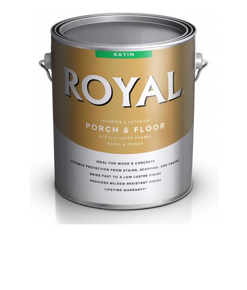 Краска для пола Royal Satin Latex Porch Floor Enamel