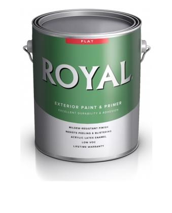 Краска Royal Flat Exterior