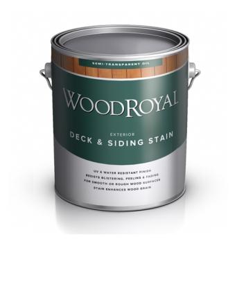 Пропитка фасадная WOOD Royal Deck Siding Semi-transparent Oil