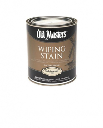 Пропитка на льняном масле Old Masters Wiping Stain