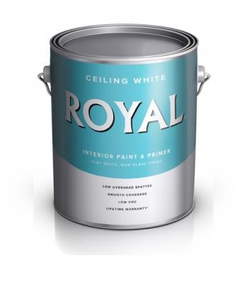 Потолочная краска Royal