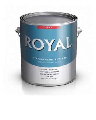 Краска для стен Royal Flat Interior