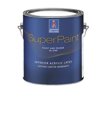 Краска SuperPaint Interior Latex Flat
